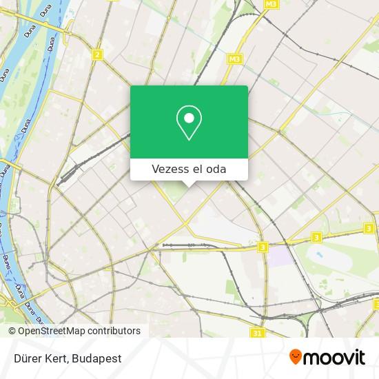 Dürer Kert térkép