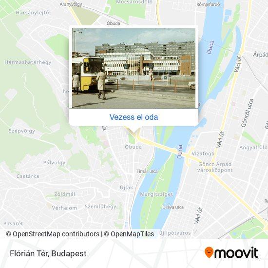 Flórián Tér térkép