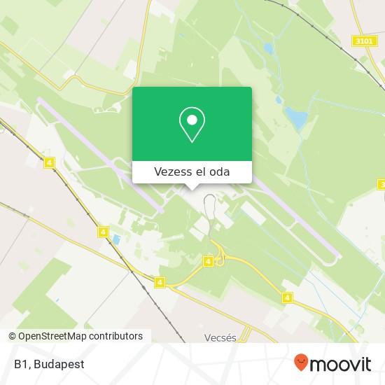 B1 térkép