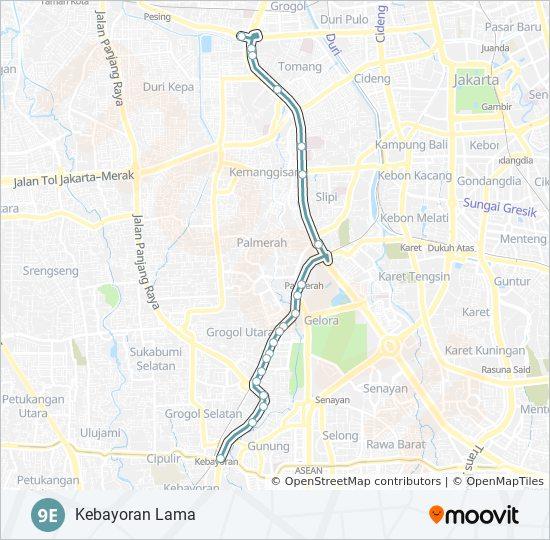 Regulae: Rute Busway Slipi Kemanggisan