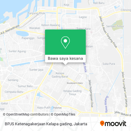 Cara Ke Bpjs Ketenagakerjaan Kelapa Gading Di Jakarta Utara Menggunakan Bis Moovit