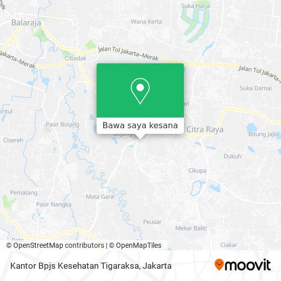 Cara Ke Kantor Bpjs Kesehatan Tigaraksa Di Tangerang Menggunakan Bis Moovit