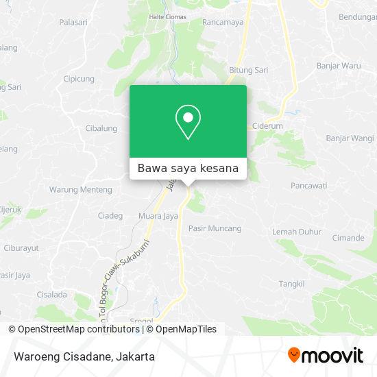 Peta Waroeng Cisadane