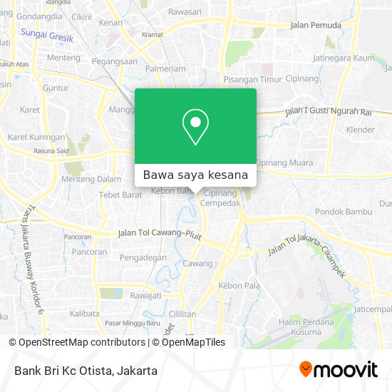 Cara Ke Bank Bri Kc Otista Di Jakarta Timur Menggunakan Bis Atau Kereta Moovit