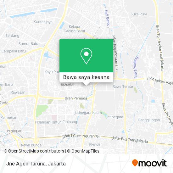 Cara Ke Jne Agen Taruna Di Jakarta Timur Menggunakan Bis Moovit