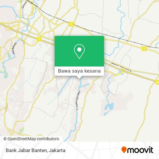 Peta Bank Jabar Banten