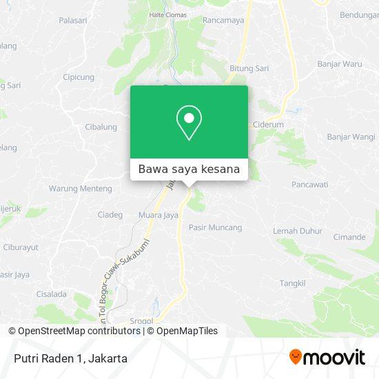 Peta Putri Raden 1