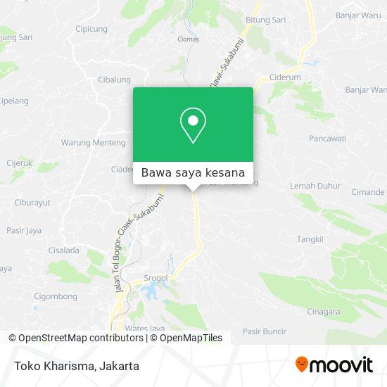 Peta Toko Kharisma