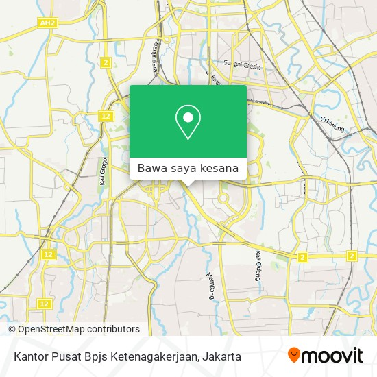 Cara Ke Kantor Pusat Bpjs Ketenagakerjaan Di Jakarta Selatan Menggunakan Bis Moovit