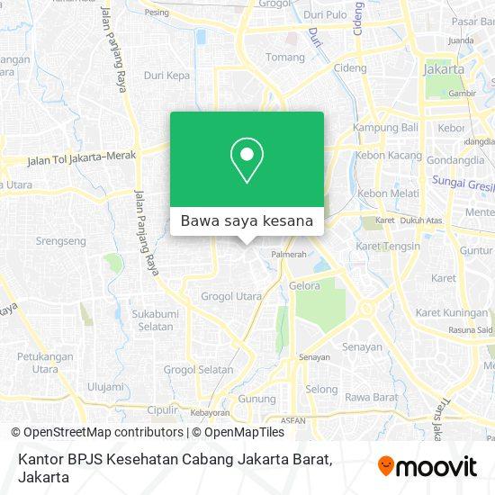 Cara Ke Kantor Bpjs Kesehatan Cabang Jakarta Barat Di Jakarta Barat Menggunakan Bis Atau Kereta Moovit