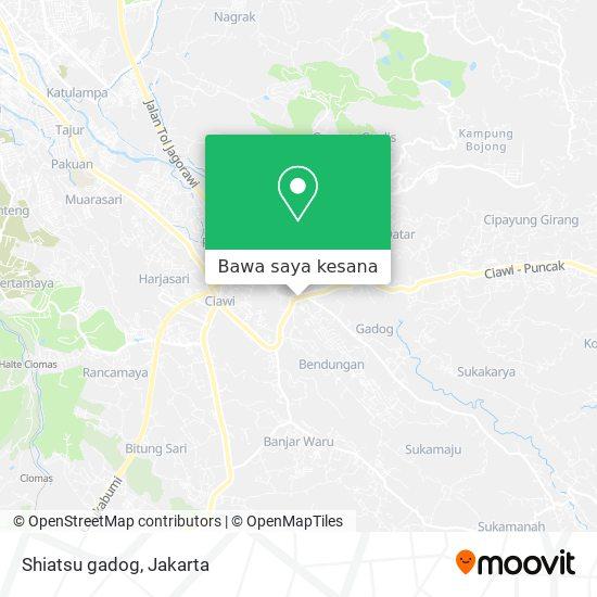 Peta Shiatsu gadog