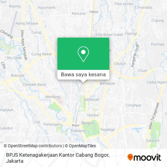 Cara Ke Bpjs Ketenagakerjaan Kantor Cabang Bogor Di Kota Bogor Menggunakan Bis Moovit