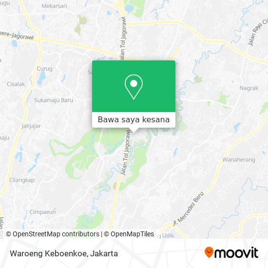Peta Waroeng Keboenkoe