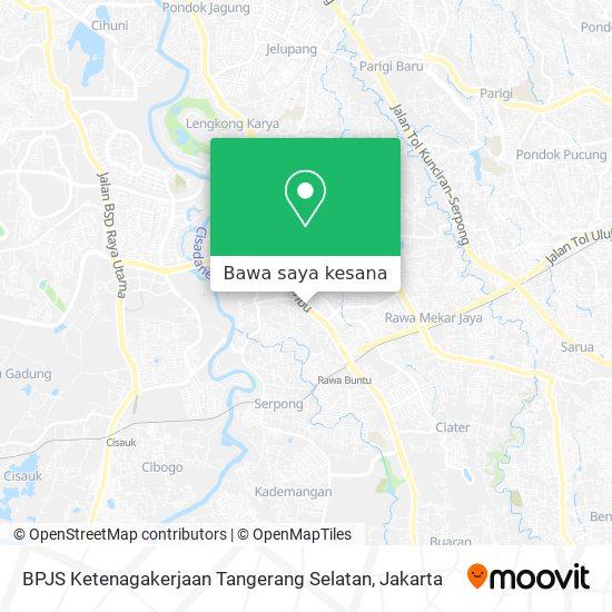 Cara Ke Bpjs Ketenagakerjaan Tangerang Selatan Di Tangerang Menggunakan Bis Atau Kereta Moovit