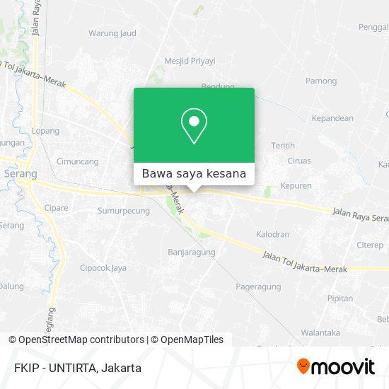 Peta FKIP - UNTIRTA