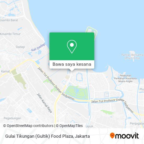 Peta Gulai Tikungan (Gultik) Food Plaza