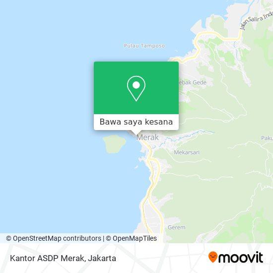 Peta Kantor ASDP Merak