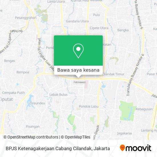 Cara Ke Bpjs Ketenagakerjaan Cabang Cilandak Di Jakarta Selatan Menggunakan Bis Atau Mrt Moovit
