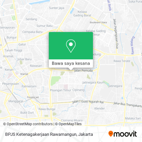 Cara Ke Bpjs Ketenagakerjaan Rawamangun Di Jakarta Timur Menggunakan Bis Moovit