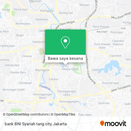 Cara Ke Bank Bni Syariah Tang City Di Kota Tangerang Menggunakan Bis Moovit