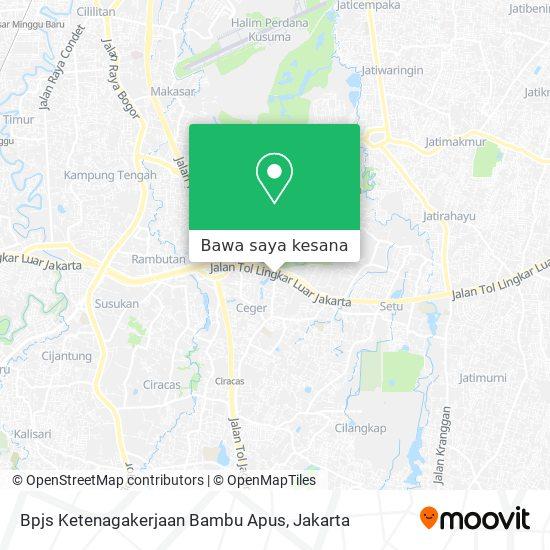 Cara Ke Bpjs Ketenagakerjaan Bambu Apus Di Jakarta Timur Menggunakan Bis Atau Kereta Moovit