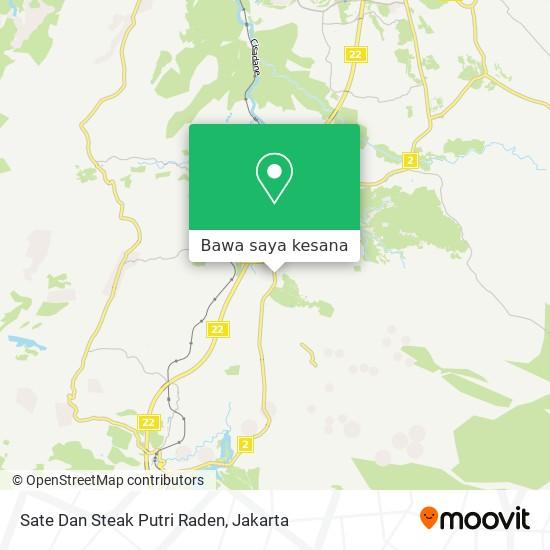 Peta Sate Dan Steak Putri Raden