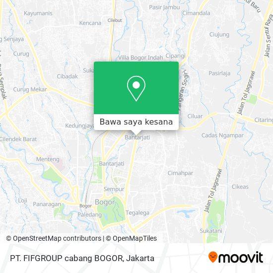 Cara Ke Pt Fifgroup Cabang Bogor Di Kota Bogor Menggunakan Bis Moovit