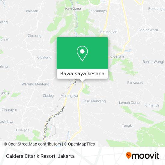 Peta Caldera Citarik Resort