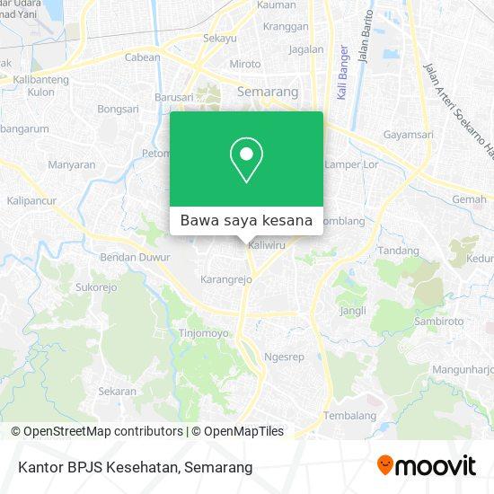 Cara Ke Kantor Bpjs Kesehatan Di Kota Semarang Menggunakan Bis Moovit