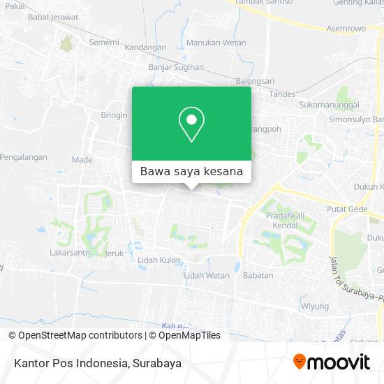 Cara Ke Kantor Pos Indonesia Di Lontar Menggunakan Bis Moovit