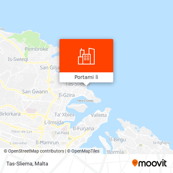 Mappa Tas-Sliema
