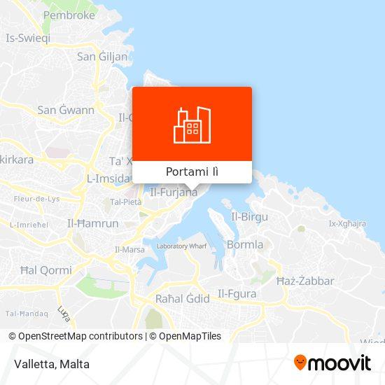 Mappa Valletta