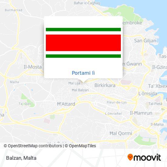 Mappa Balzan
