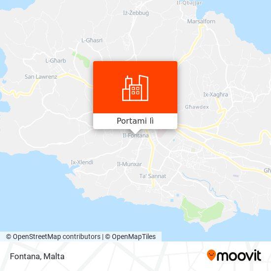 Mappa Fontana