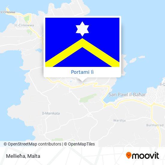 Mappa Mellieħa