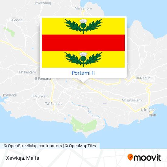 Mappa Xewkija