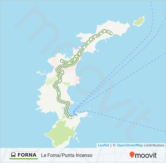 Forna Route Time Schedules Stops Maps Le Forna Punta Incenso