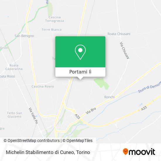 Cartina Michelin Italia.Come Arrivare A Michelin Stabilimento Di Cuneo A Cuneo Con Bus O Treno Moovit