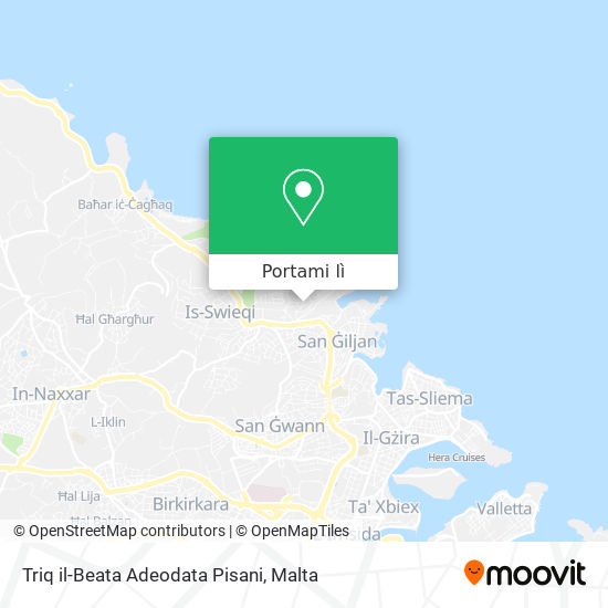 Mappa Triq il-Beata Adeodata Pisani