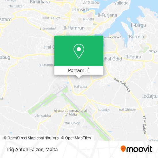 Mappa Triq Anton Falzon