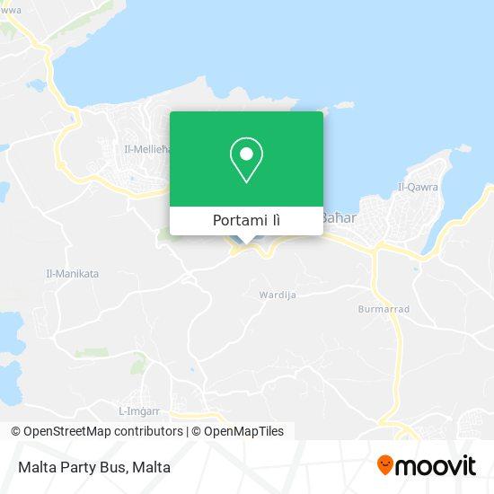 Mappa Malta Party Bus