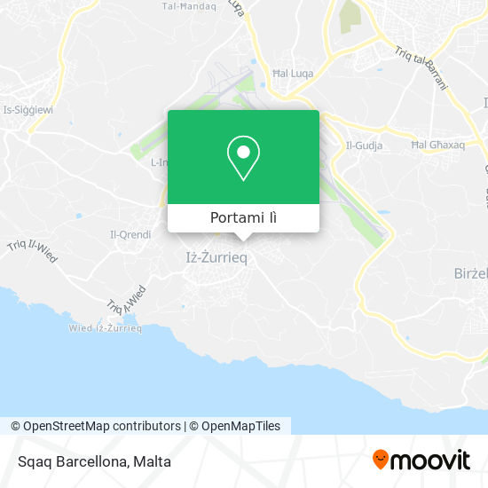 Mappa Sqaq Barcellona