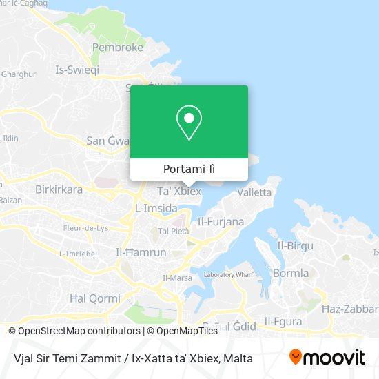Mappa Vjal Sir Temi Zammit / Ix-Xatta ta' Xbiex