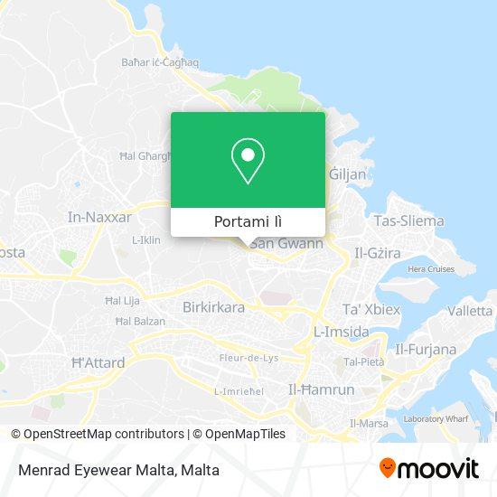 Mappa Menrad Eyewear Malta