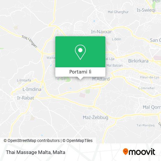 Mappa Thai Massage Malta