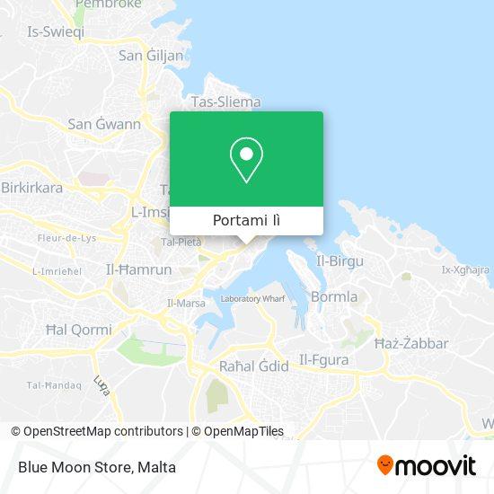 Mappa Blue Moon Store