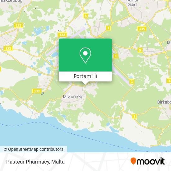 Mappa Pasteur Pharmacy