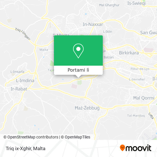 Mappa Triq ix-Xghir