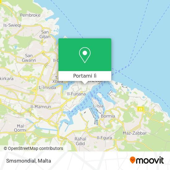 Mappa Smsmondial