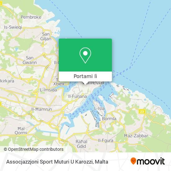 Mappa Assocjazzjoni Sport Muturi U Karozzi